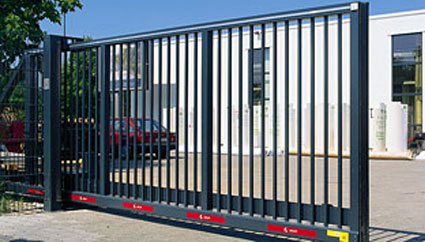 sliding security gate